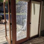 home glass patio door repair and board ups