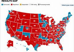 2010 midterm elections resulted in this sea of red.