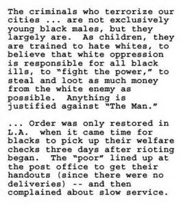Choice cuts from Ron Paul's racist newsletter.