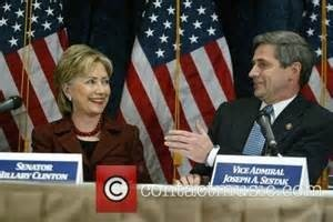 Sestak endorsed Hillary Clinton in the 2008 Democratic primary. he was Clinton's national security advisor. It would come back to haunt him.