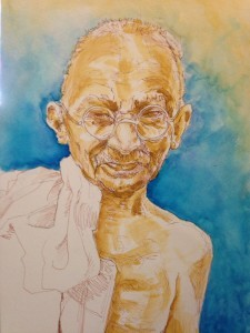 Gandhi by Pete smith