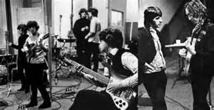 """Scenes from recording: Paul McCartney's switch to a Rickenbacker bass put the thump into a single released separately, """"Paperback Writer."""""""