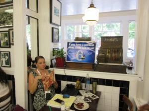 WPVI-TV, Channel 6, set up shop.