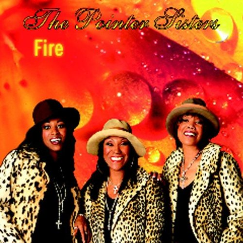 "The Pointer Sisters promoting their Springsteen cover, ""Fire."""