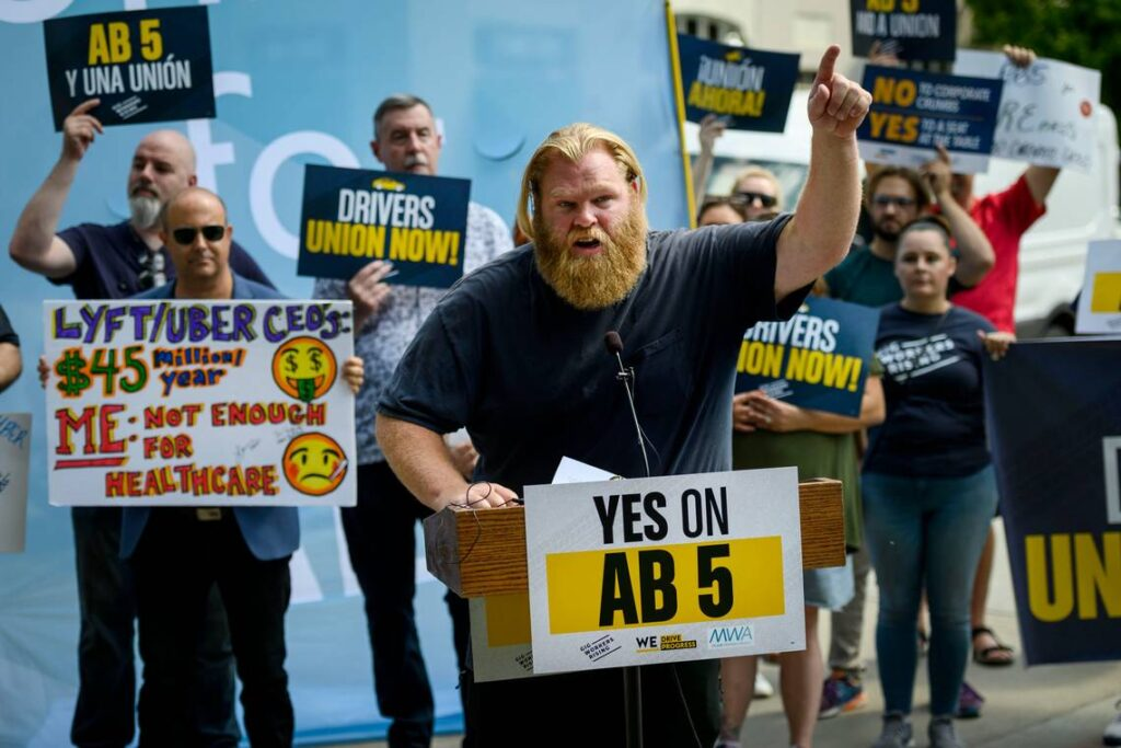 The campaign for AB 5, the most progressive labor law since the New Deal.
