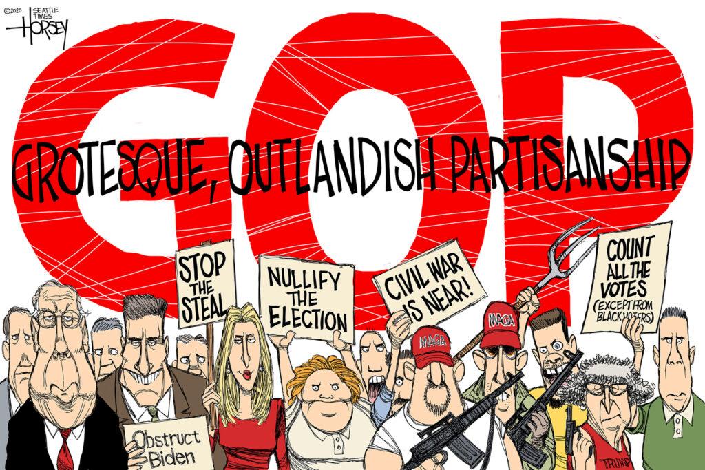 GOP political cartoon
