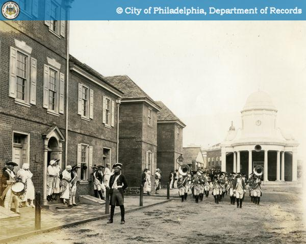 4th of July festivities in colonial America, from the City of Philadelphia Department of Recrods