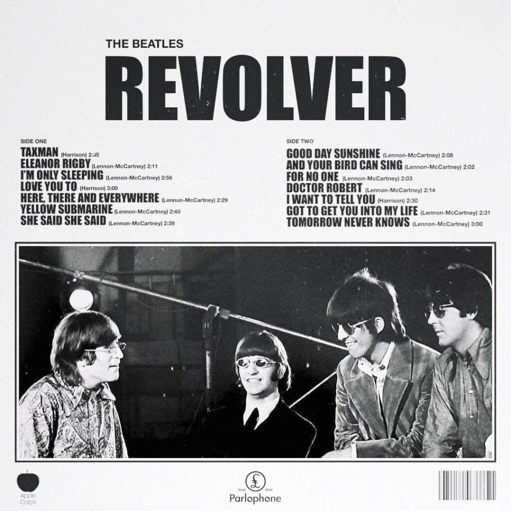 Back cover of Revolver