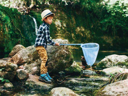 Boy with Net