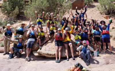 Diné Youth Learn River Safety and Ecology in Dominguez-Escalante Canyon