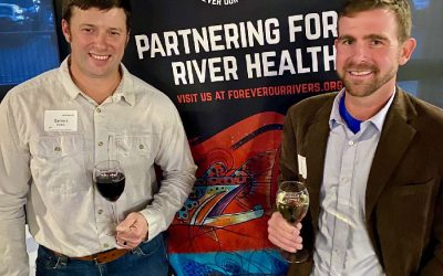 Forever Our Rivers Wine Launch