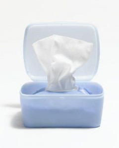 Use a make up wipe when you don't  have the time or tools to properly wash your faces with cleanser and water.
