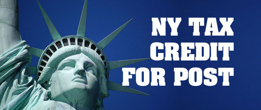 NY Tax Credit For Post
