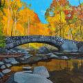 Boulder Bridge at Rock Creek Park 2020 11x 14
