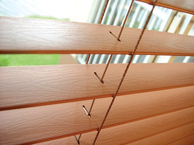 Faux Wood Blinds 1