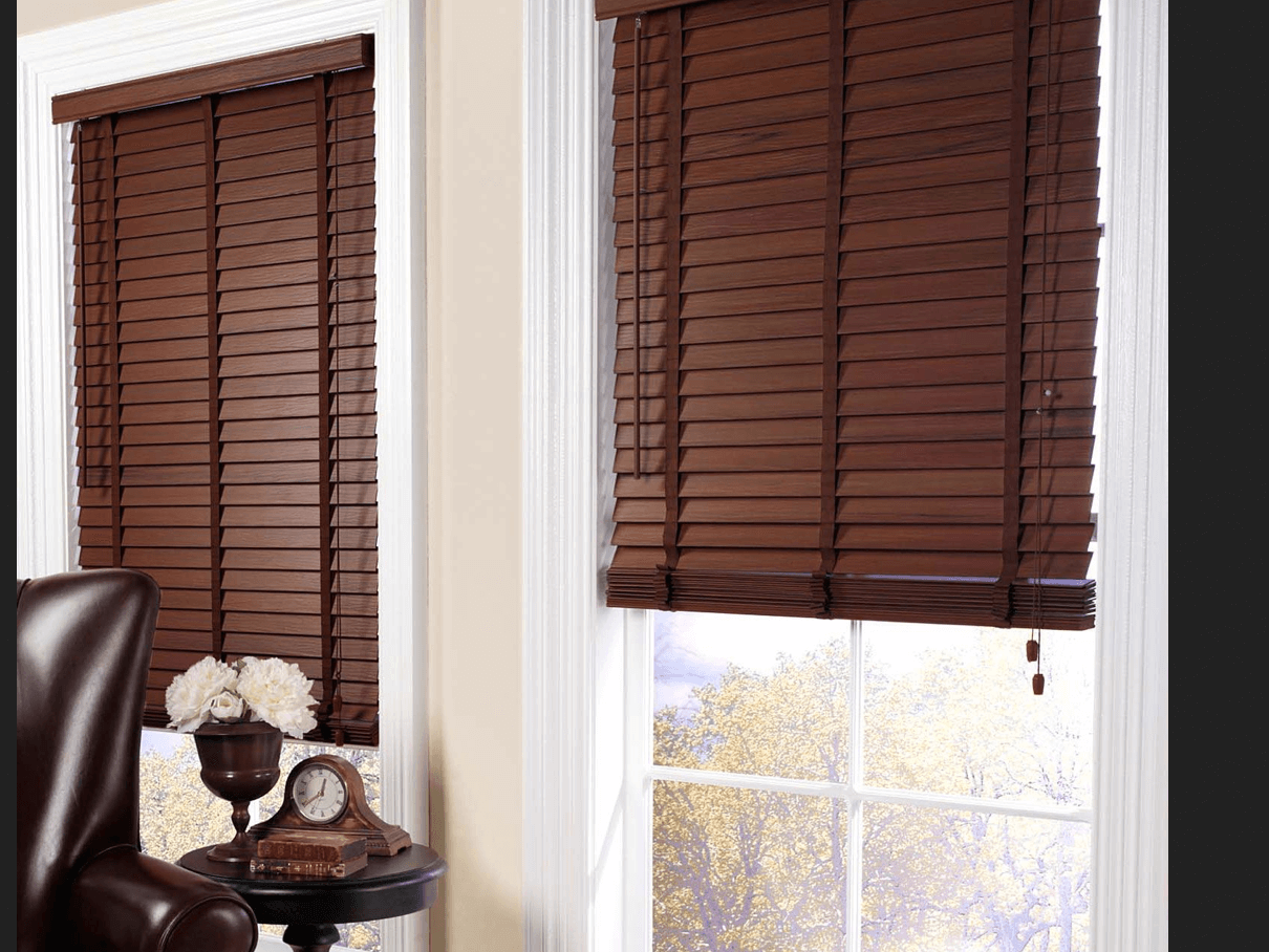 Faux Wood Blinds 4