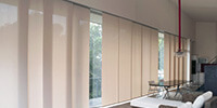 Arches Blinds sliding panels