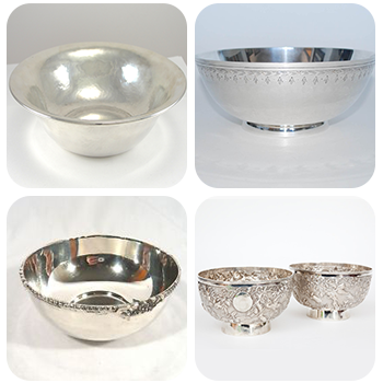 Antique Sterling Silver Bowls