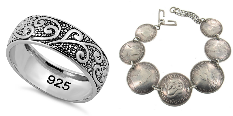 Sterling Silver vs Real Silver