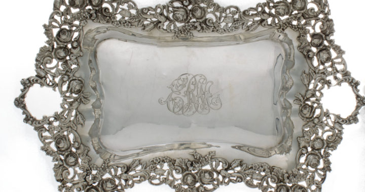 Antique Sterling Silver Trays