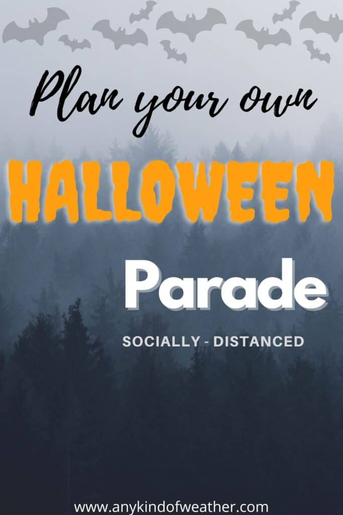 Plan your own socially distanced Halloween Parade