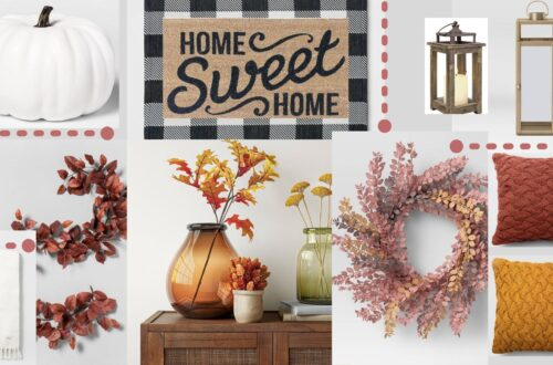 Target Fall Home Decor Round Up