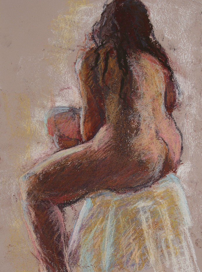 Pastel figure 111