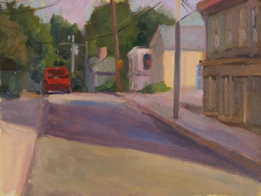 McWen Street / The Red Truck