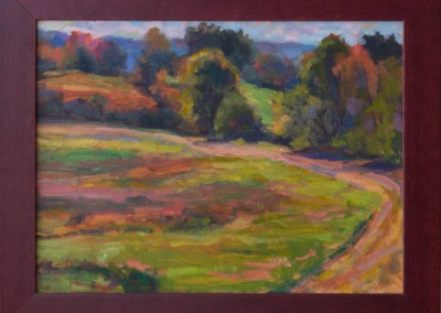 Autumn Field Path, Applewood