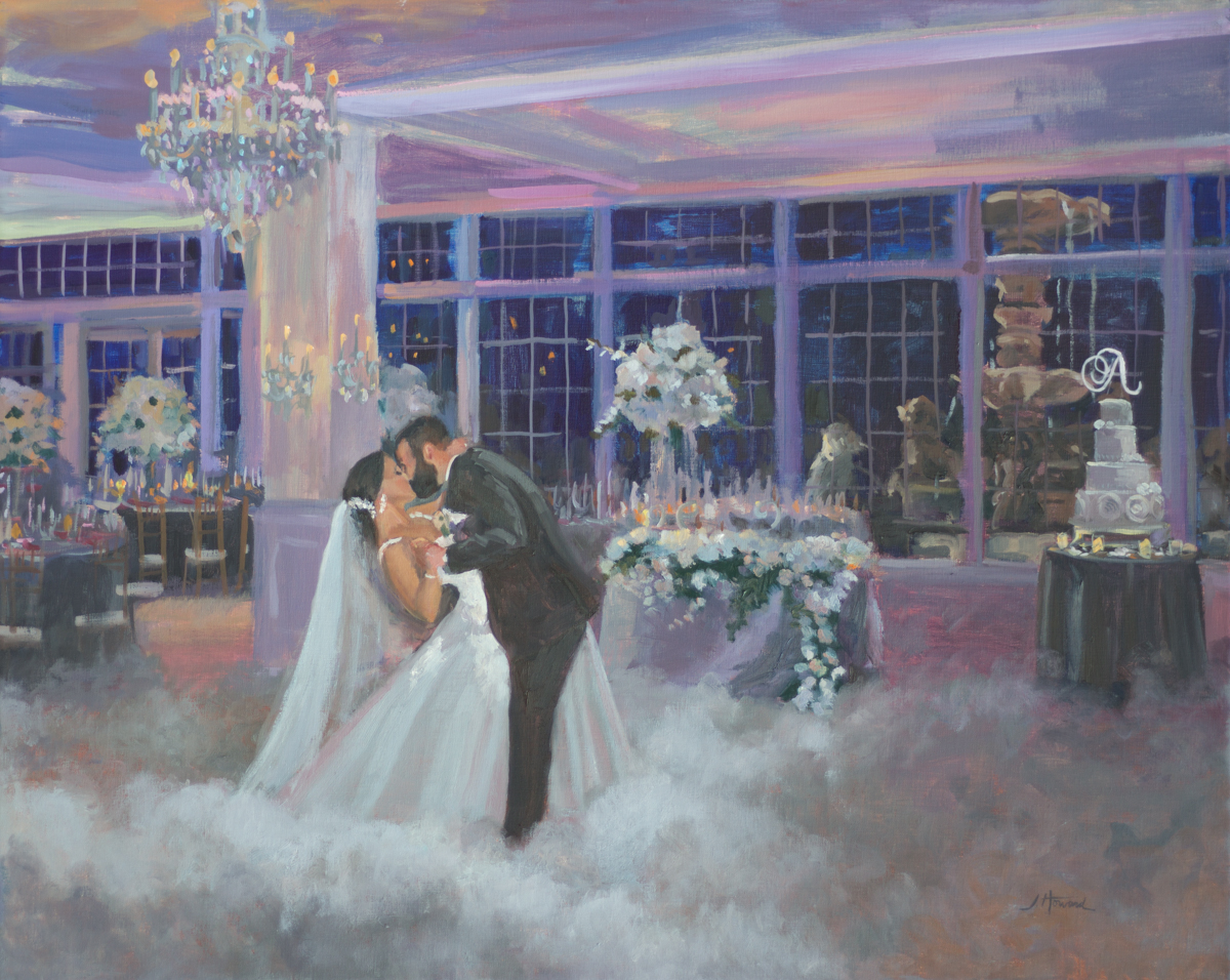 Brittany and Joe, First Dance at Trumph National, Bedminster, NJ