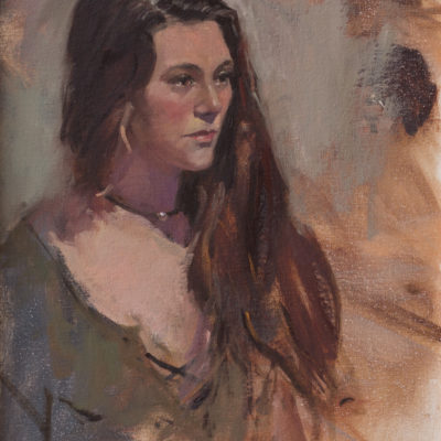 Untitled 13, Portrait of a Young Woman
