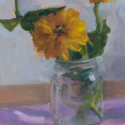 Yellow Zinnia