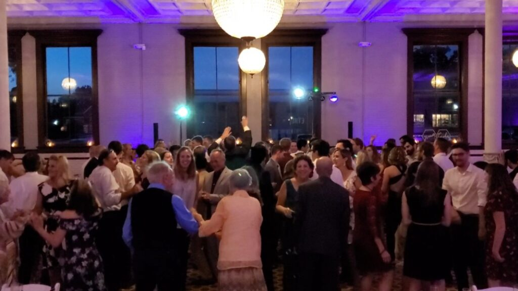 Cheap Indianapolis Wedding DJ Has Dance Floors Packed | Venue: 1899 West Side of Indianapolis