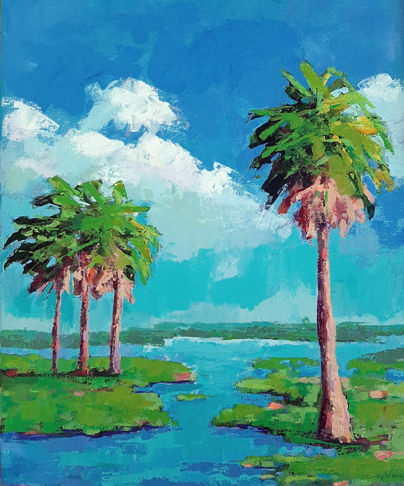 Palms on the Marsh II