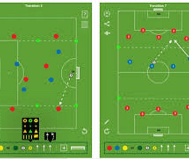 Soccer training in France