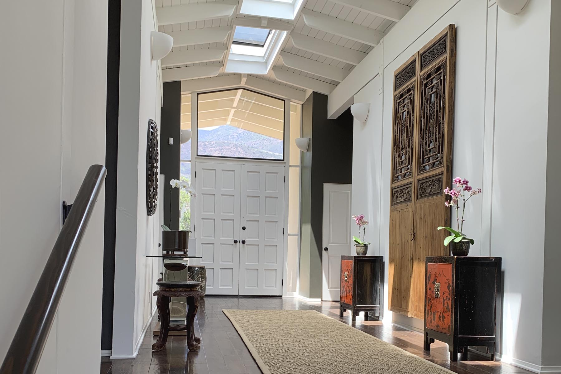 Ojai front hall residential