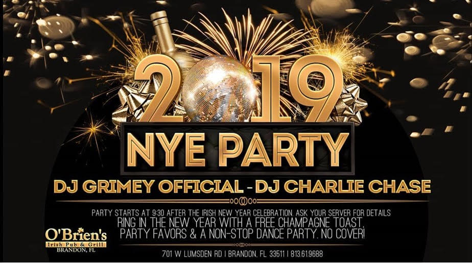2019 New Years Eve Party