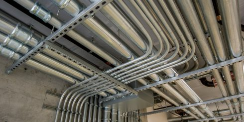 In-house Mechanical, Electrical, and Plumbing