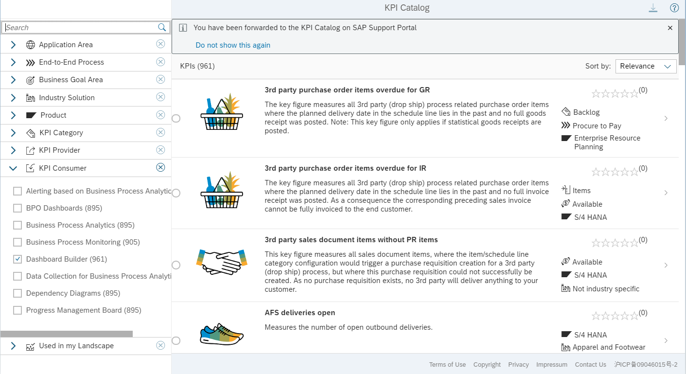 Choose the KPI Tile