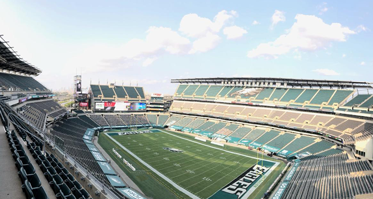 Diversified Upgrades Audio System for Philadelphia Eagles Home Stadium