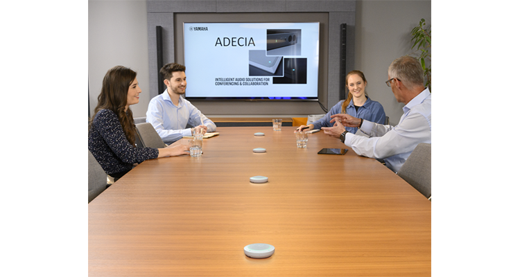 Yamaha Unified Communications Adds RM-TT Wired Tabletop Array Mic As New ADECIA Option