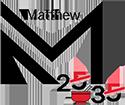 Matthew 25:35 Logo