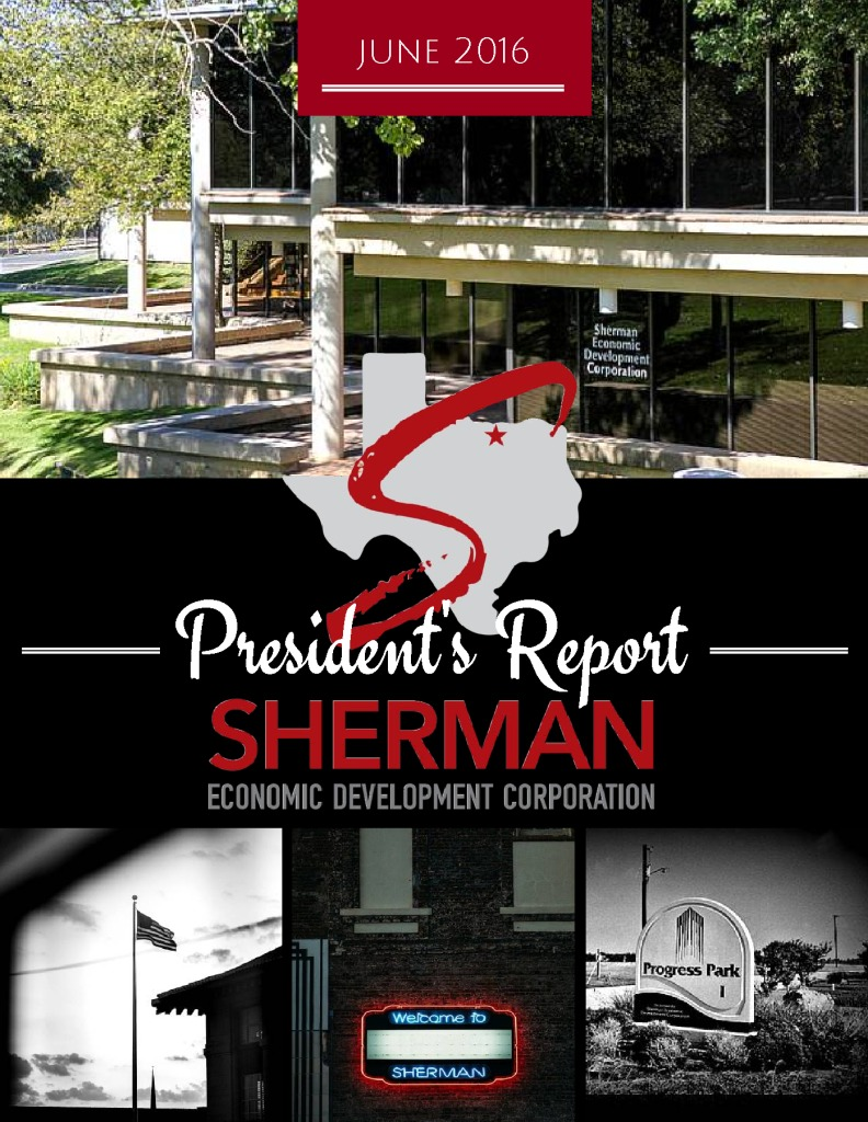 thumbnail of June 2016 Presidents Report