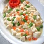 Tofu-Shrimp-and-Green-Peas