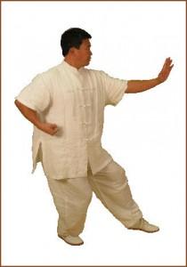 Master Xing in a Xu Bu stance