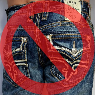 Are You Too Old For Butt Bling?  Seattle Men's Fashion Blog