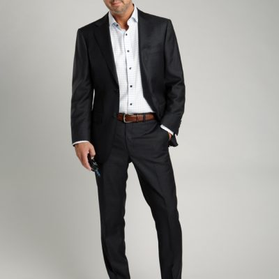 New Charcoal Gray Suit From Suit Supply