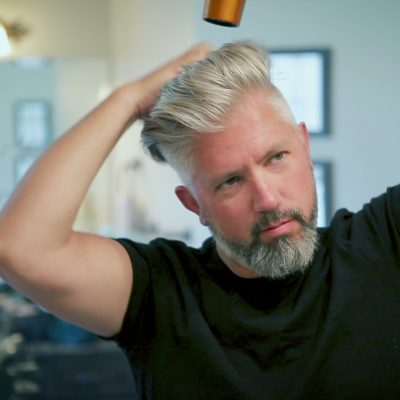 Hair Styling Tips for Older Guys to Add Volume