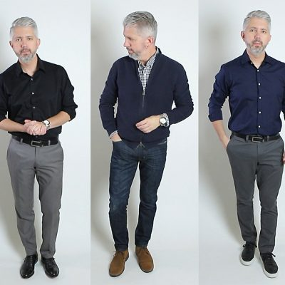 3 Dark Color Outfit Ideas For Men