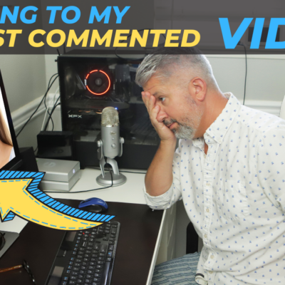 Reacting To My Most Commented Video on YouTube